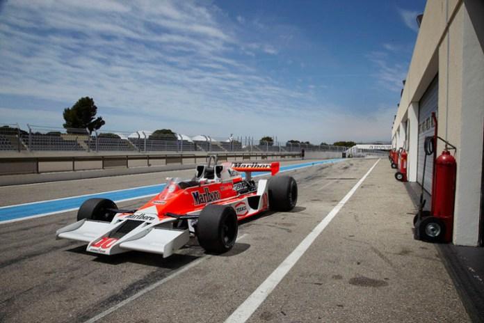 James Hunt McLaren M26 F1