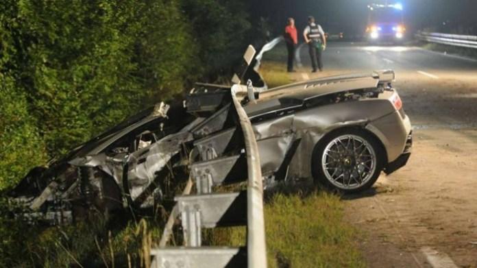 Lamborghini Gallardo LP560-4 crashed (1)