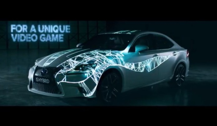 Lexus IS Hybrid Trace your road