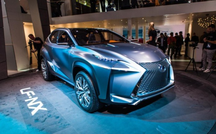 Lexus LF-NX Concept (1)