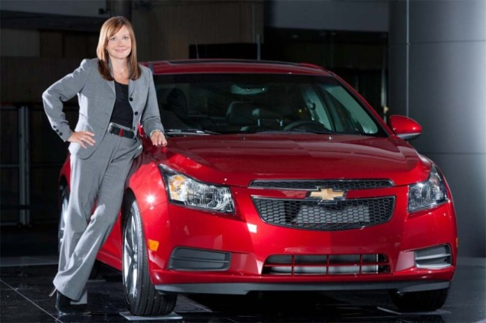 Mary-Barra-with-Chevy-Volt