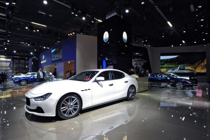 Maserati Ghibli Live in Frankfurt Motor Show 2013 (1)