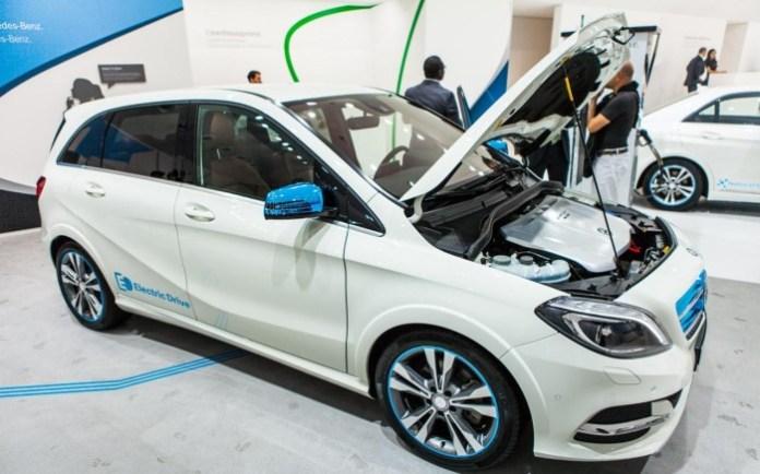 Mercedes-Benz B-Class Electric Drive (5)