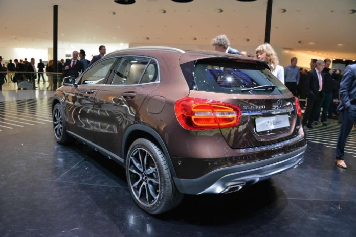 Mercedes-Benz GLA Live in Frankfurt 2014 (20)
