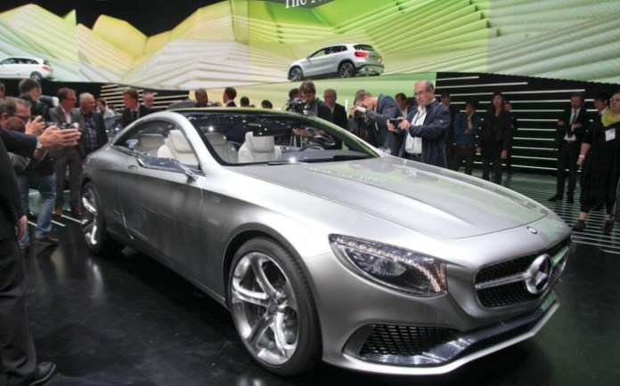 Mercedes-Benz S-Class Coupe Concept Live in Frankfurt 2013 (1)