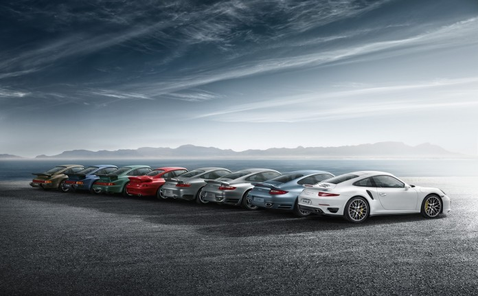Porsche 911 Turbo Generations (8)