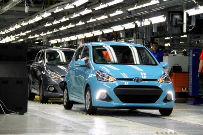 Production of the Hyundai i10 (1)