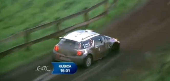 Rally Poland - Kubica