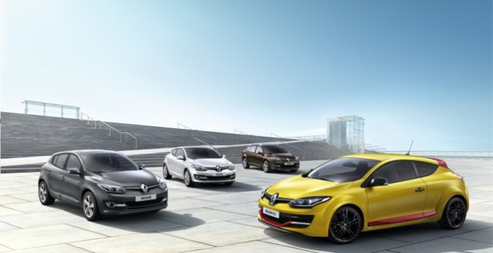 Renault Megane Line-up 2014 (1)