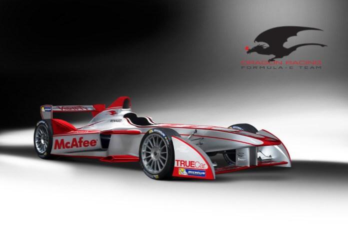 dragon racing formula e