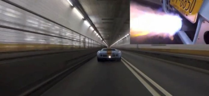 fird GT40 Tunnel Run
