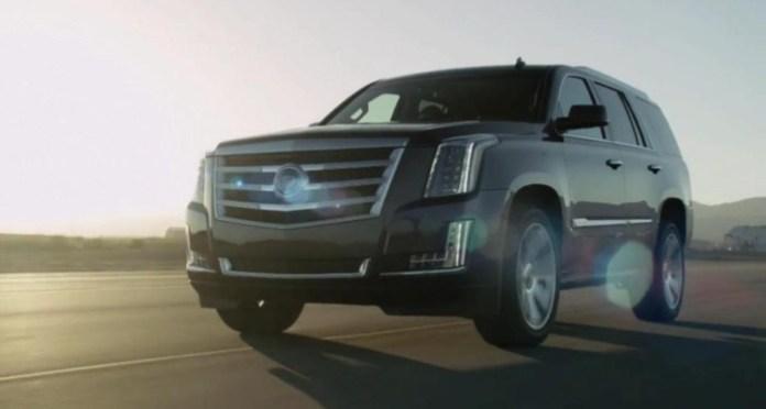2015 Cadillac Escalade leaked photo