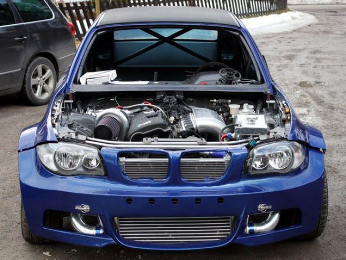 Crazy Swede Creates BMW 1-Series with 800 hp (1)