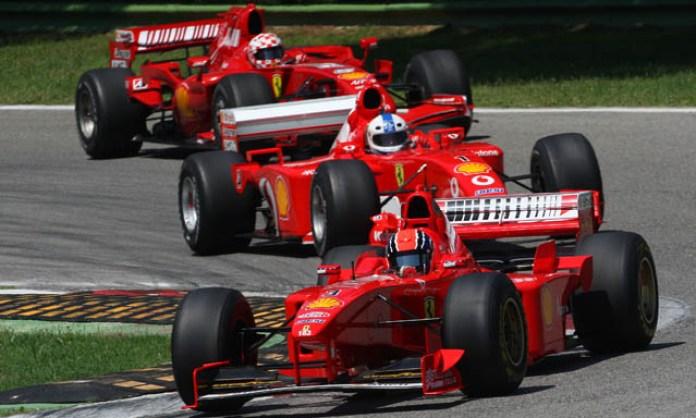 Ferrari 3 f1 cars