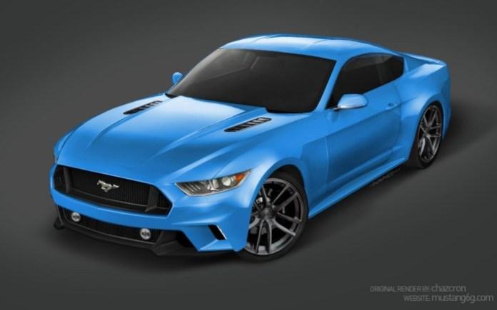 Ford Mustang 2015 Renderings (9)