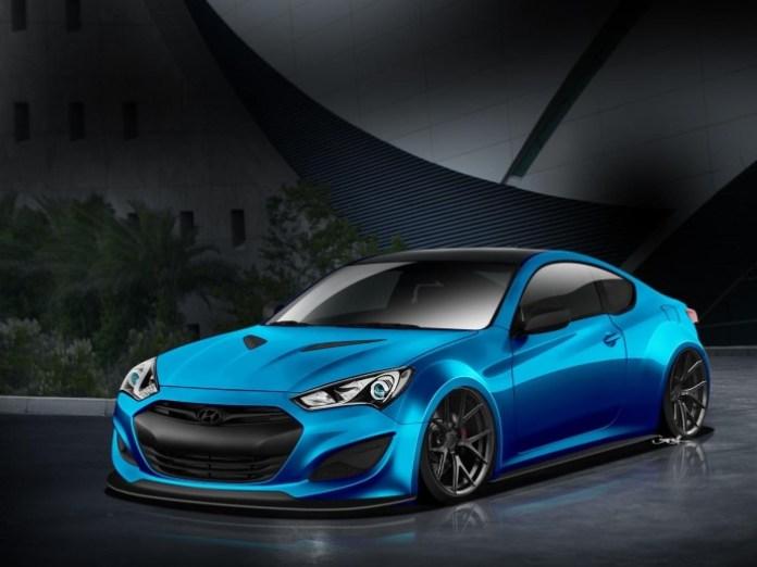 Hyundai JP Edition Genesis Coupe for SEMA