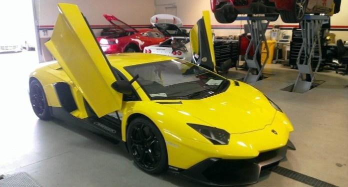 Lamborghini LP 720-4 Aventador 50 Anniversario (1)