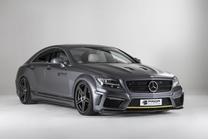 Mercedes CLS PD550 Black Edition by Prior Design 1