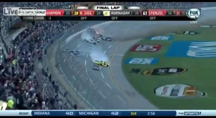 NASCAR japanese commentary