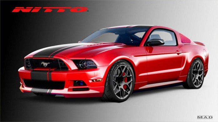 Nitto Tire Mustang GT for SEMA