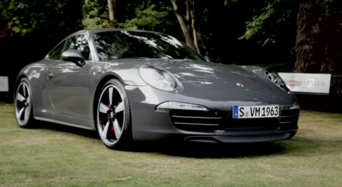 Porsche Fascination - Design Philosophy of the 911 50th Anniversary Edition