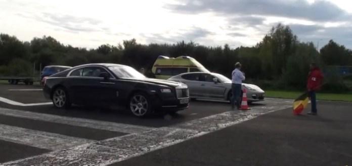 Rolls-Royce Wraith vs. Porsche Panamera