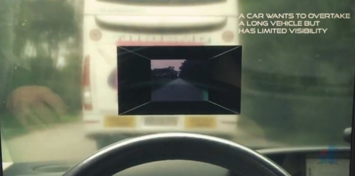 See-Through System an overtaking assistance system