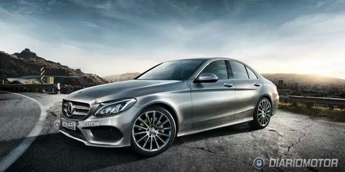 mercedes-c-class-2014-leaked-photos-1