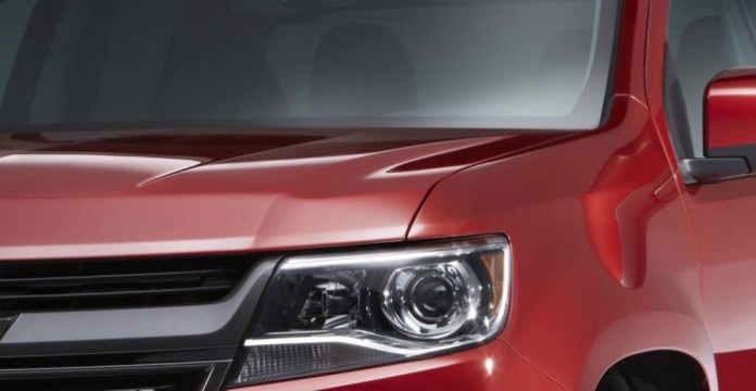 2015 Chevrolet Colorado teaser