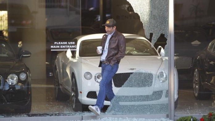 Bentley theft