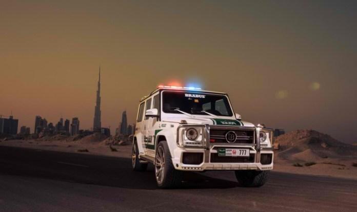 Brabus B63S - 700 Widestar for Dubai police (4)