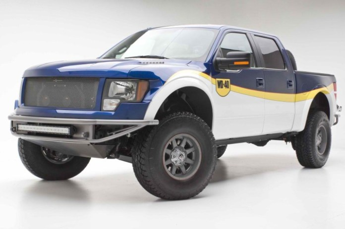 Chip Foose WD-40 Ford F-150 for SEMA (1)