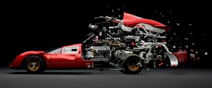 Disintegrating-Ferrari-330-P4