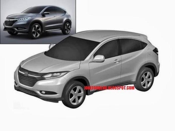Honda Urban SUV Paten Images (2)