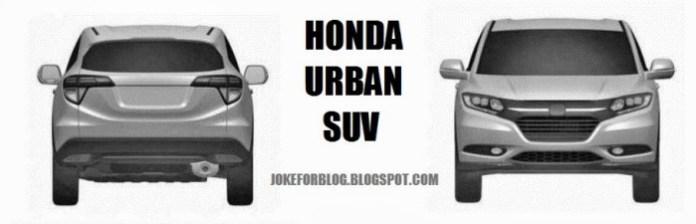 Honda Urban SUV Patent Images (1)