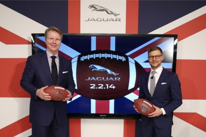 Jaguar Super Bowl ad announcement