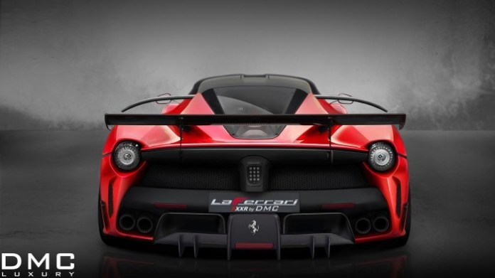 LaFerrari FXXR rendering by DMC 3