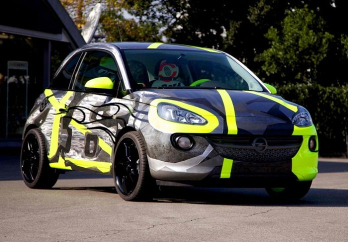 Opel Adam by Valentino Rossi and Aldo Drudi (1)