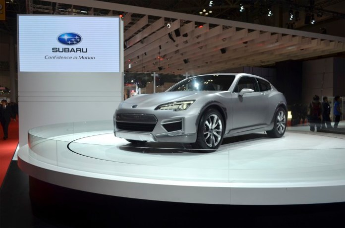 Subaru Cross Sport Design Concept and Subaru Crossover 7 Concept (2)