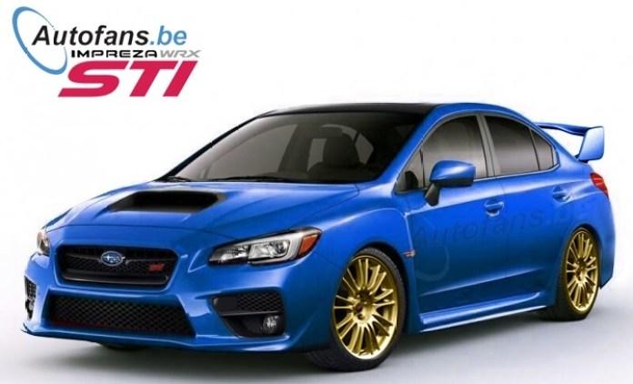 Subaru WRX STI 2014 Rendering (1)