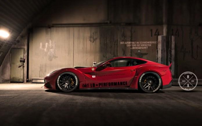 Ferrari F12 by Liberty Walk