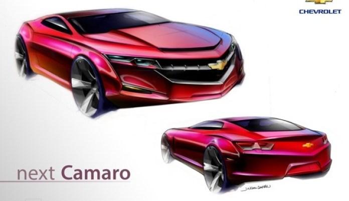 2016 Chevrolet Camaro sketches (2)