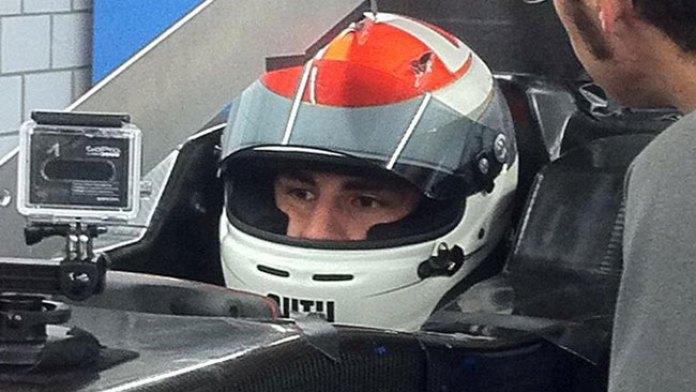 Adrian Sutil on Sauber seat