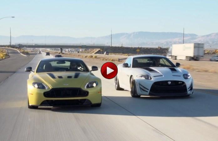 Aston Martin V12 Vantage S Vs Jaguar XKR-S GT