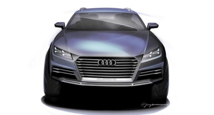 Audi Show Car concept for NAIAS 2 (3)