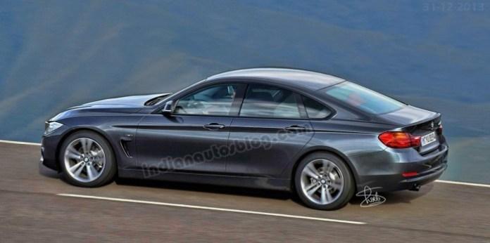 BMW 4-Series GranCoupe rendering (2)