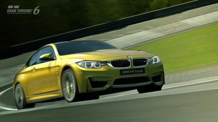 BMW M4 Coupe n Gran Turismo 6