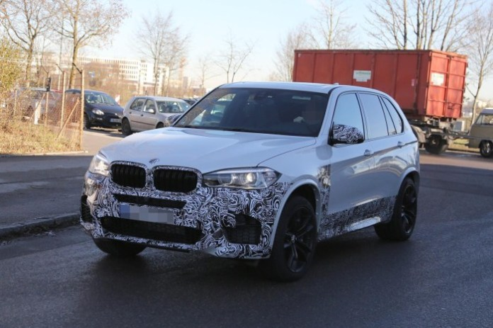 BMW X5 M 2014 spy photos (3)