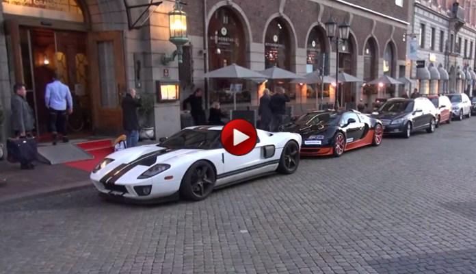 Bugatti Veyron Vitesse and Ford GT