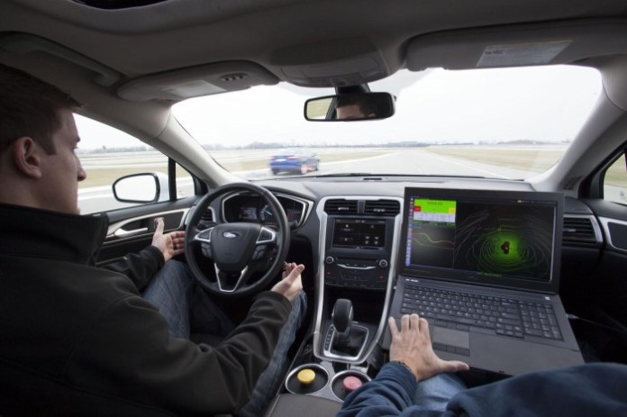 Ford Fusion Hybrid automated research vehicle 7